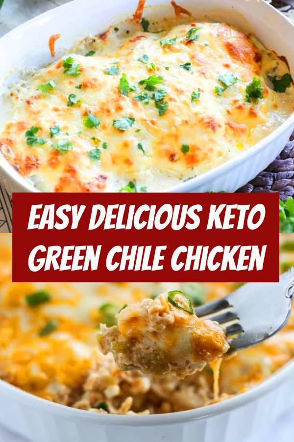 Green Chili Chicken Keto  Easy Keto Green Chile Chicken Recipe keto chicken
