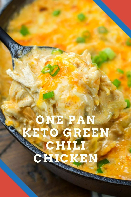 Green Chili Chicken Keto  e Pan Keto Green Chili Chicken in 2020