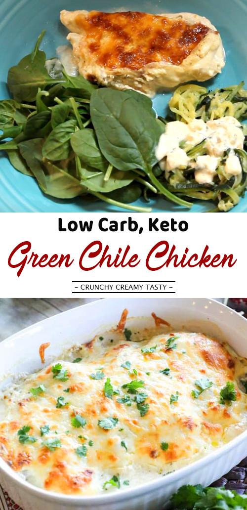 Green Chili Chicken Keto  Low Carb Keto Green Chile Chicken video