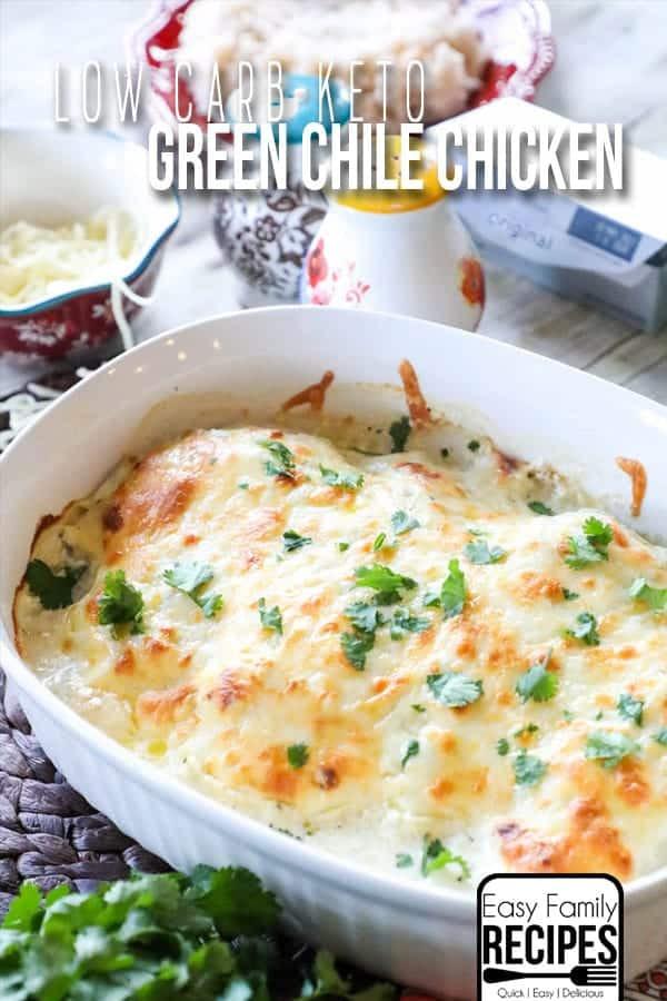 Green Chili Chicken Keto  BEST EVER Keto Green Chile Chicken · Easy Family Recipes