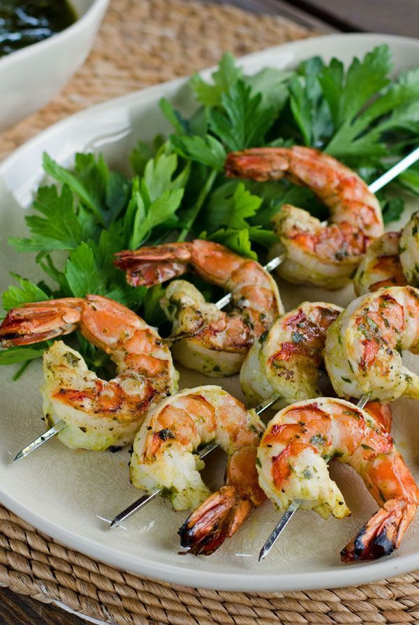 Grilled Shrimp Keto  Chimichurri Grilled Shrimp Recipe
