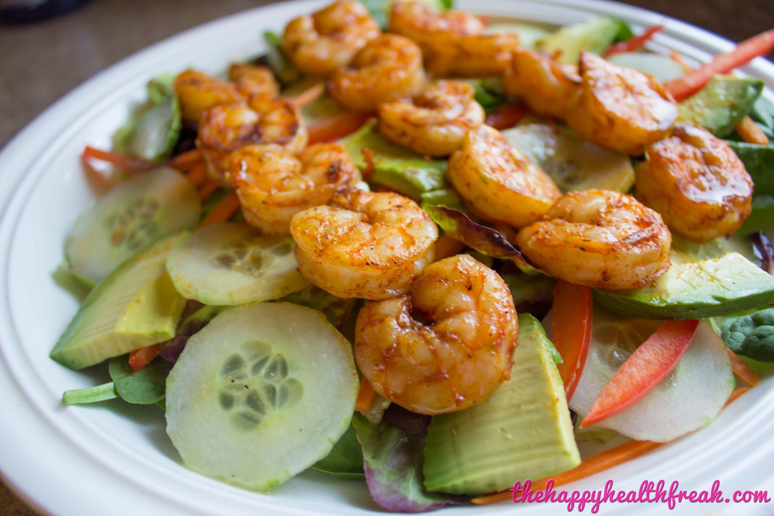 Grilled Shrimp Keto  Spicy Grilled Shrimp Salad with Sweet Ginger Lime Dressing