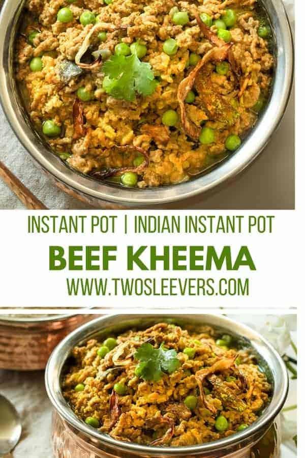 Ground Beef Keto Instant Pot Recipes  Instant Pot Keto Indian Kheema