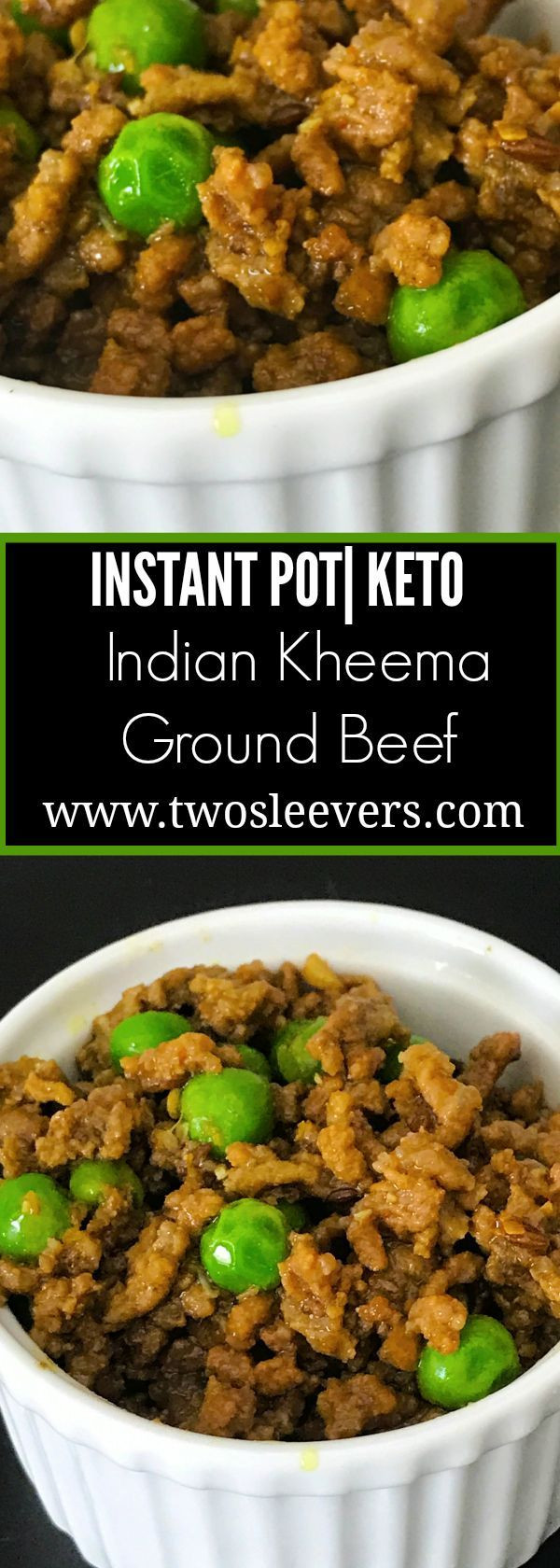 Ground Beef Keto Instant Pot Recipes  Instant Pot Keto Indian Kheema Easy low carb recipe for