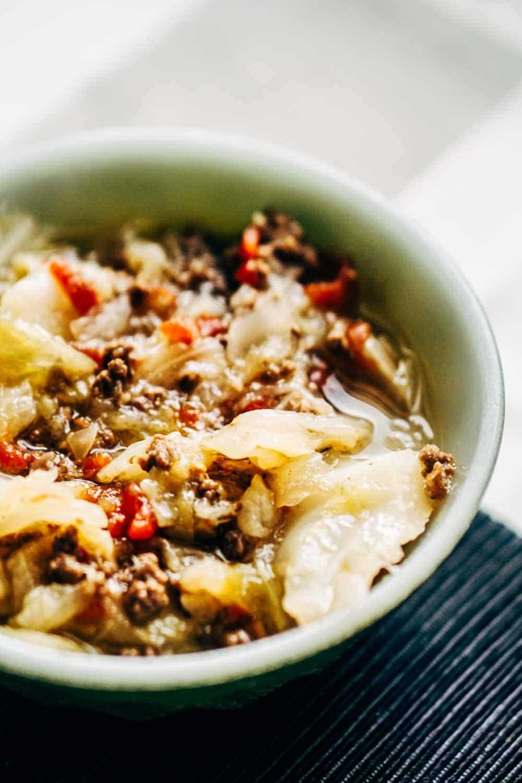 Ground Beef Keto Soup Recipes  Cabbage Soup Recipe [Keto & Low Carb] KETOGASM