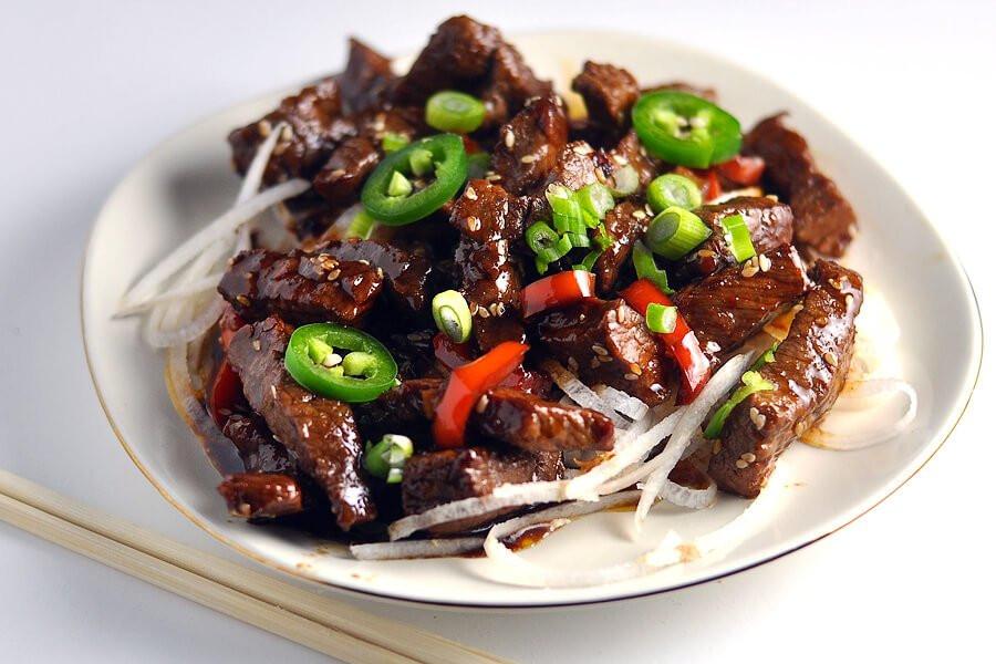 Hamburger Keto Recipes Beef  Keto Crispy Sesame Beef