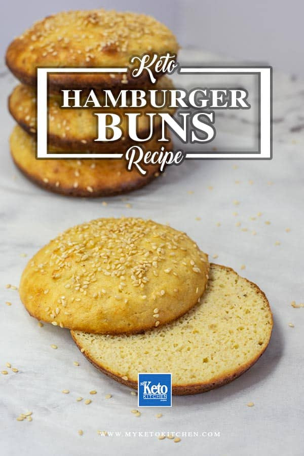 Hamburger Keto Recipes Easy  Keto Burger Buns Recipe Easy Low Carb Hamburger Bread