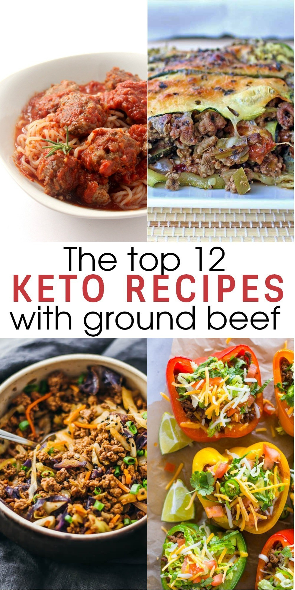 Hamburger Keto Recipes Easy  12 Flavorful and Easy Keto Recipes With Ground Beef To Try