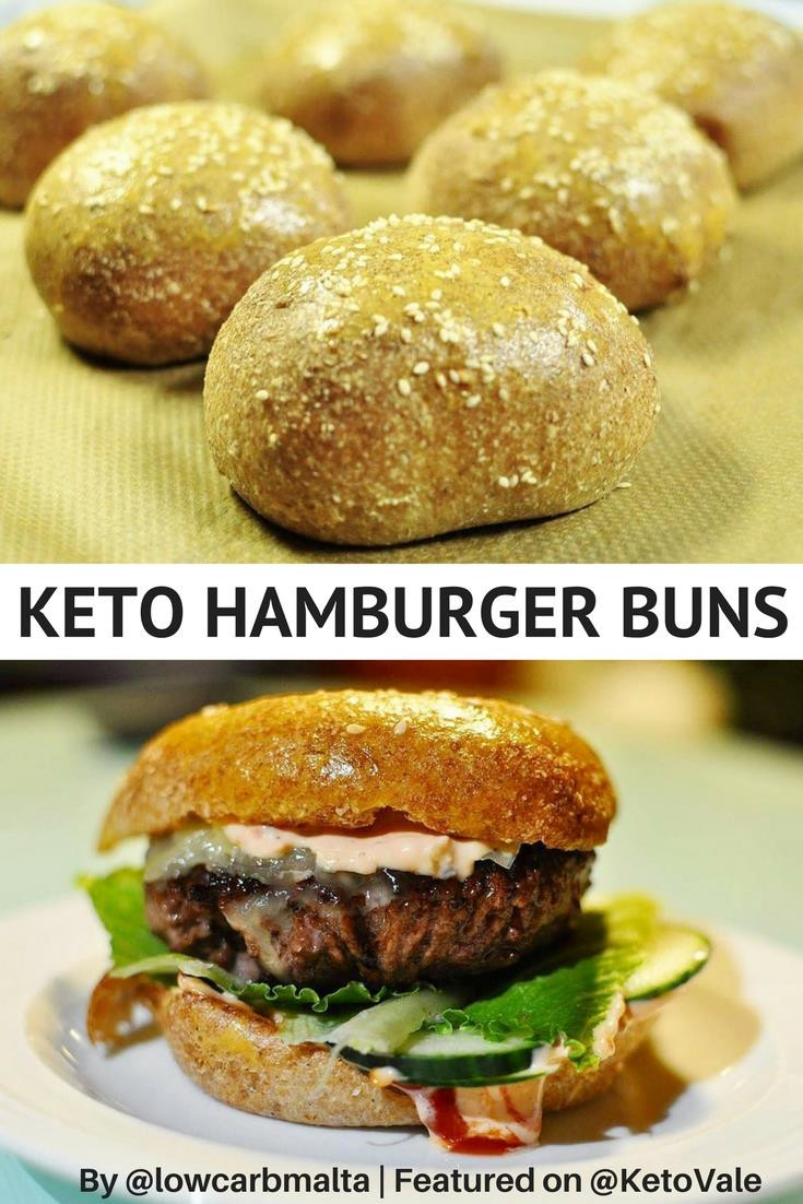 Hamburger Keto Recipes Low Carb  Best Low Carb Bread Recipe for Buns and Rolls