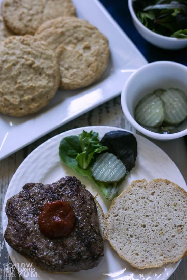 Hamburger Keto Recipes Low Carb  Low Carb Hamburger Buns Recipe Keto Paleo