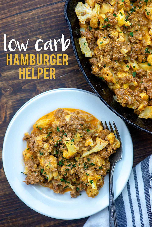 Hamburger Keto Recipes Low Carb  The BEST Healthy Hamburger Helper Low Carb & Kid Friendly