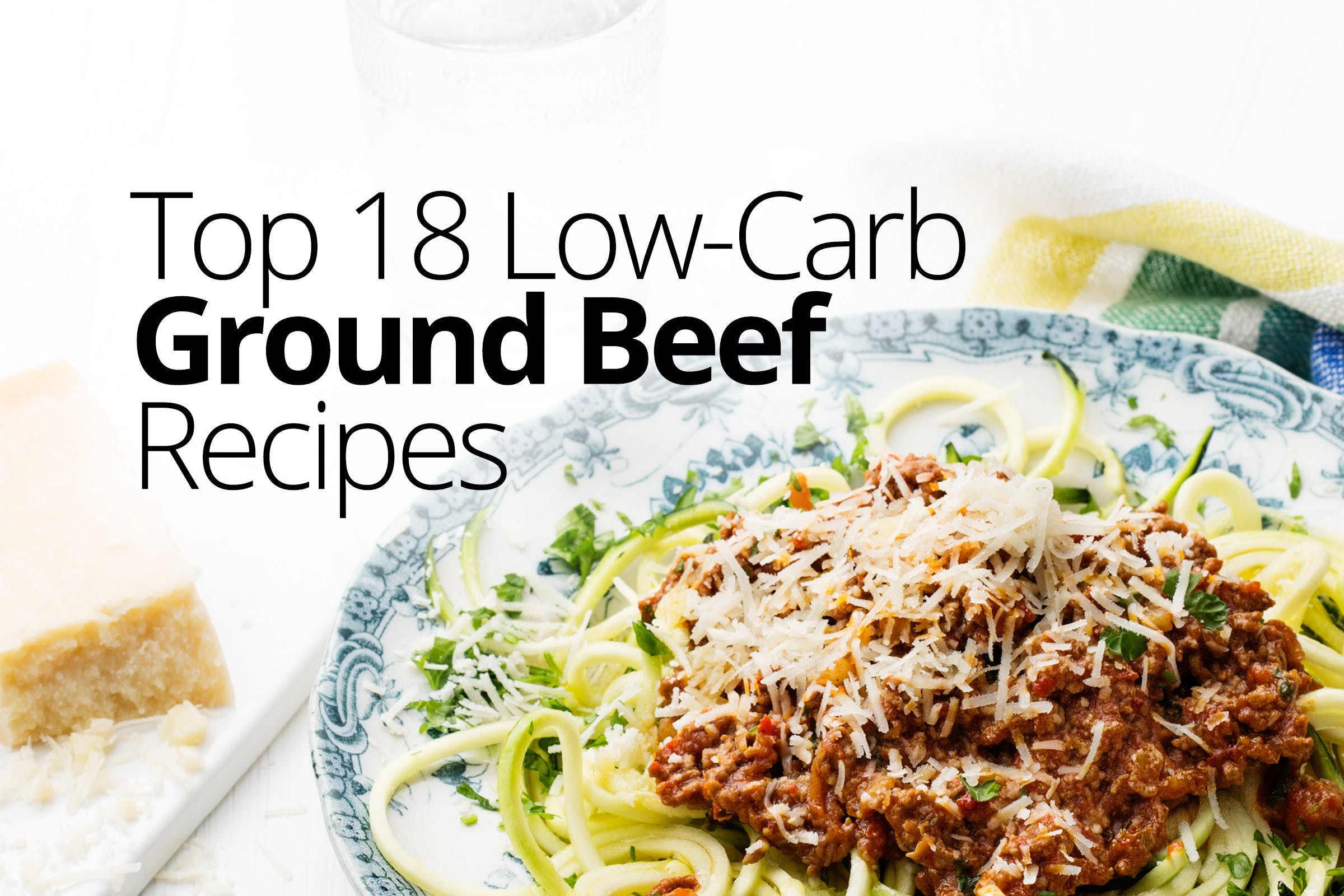 Hamburger Meat Recipes Low Carb Keto  Low Carb and Keto Ground beef Recipes – Quick and Easy