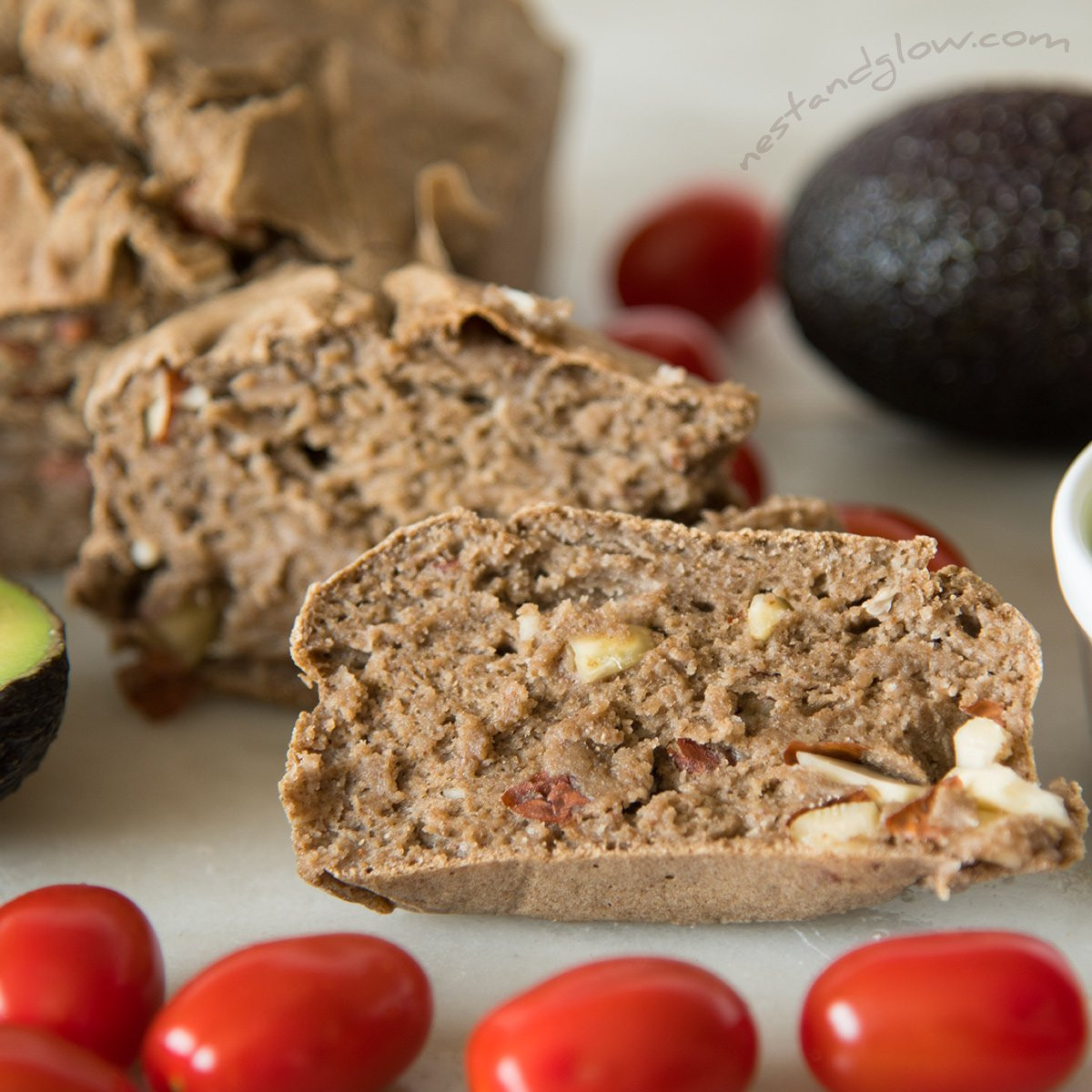 Healthy Gluten Free Bread  3 Ingre nt Gluten Free Buckwheat Bread Recipe [High