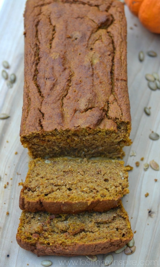 Healthy Gluten Free Bread  Healthy Gluten Free Pumpkin Bread