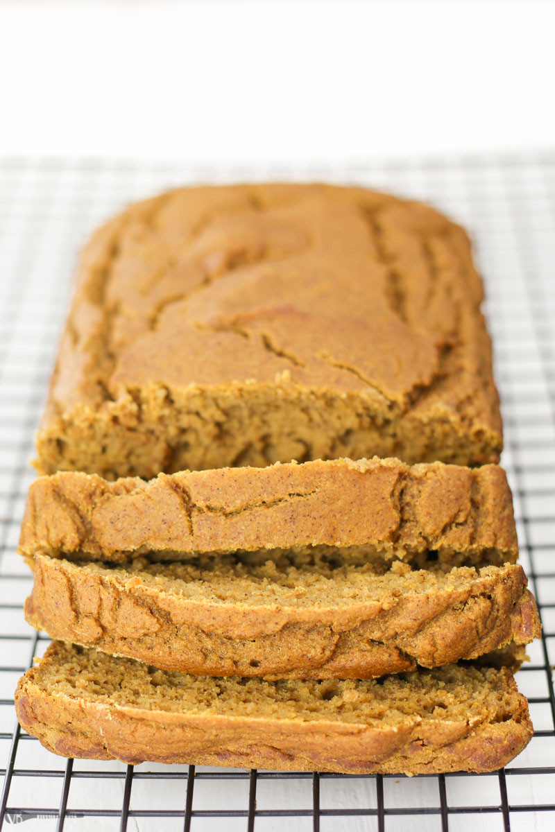 Healthy Gluten Free Bread  Gluten Free Pumpkin Bread Recipe made Healthy VeggieBalance