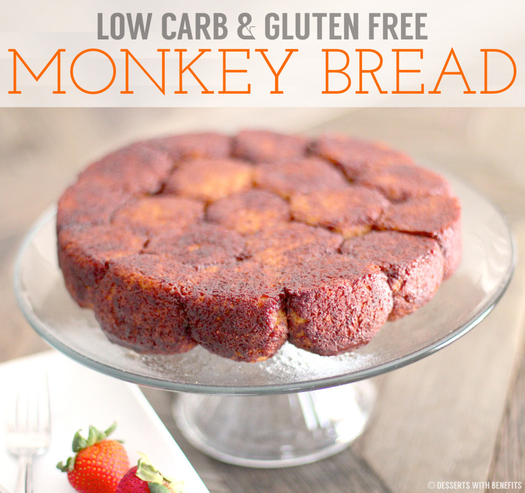 Healthy Low Carb Bread  Healthy Low Carb & Gluten Free Monkey Bread sugar free