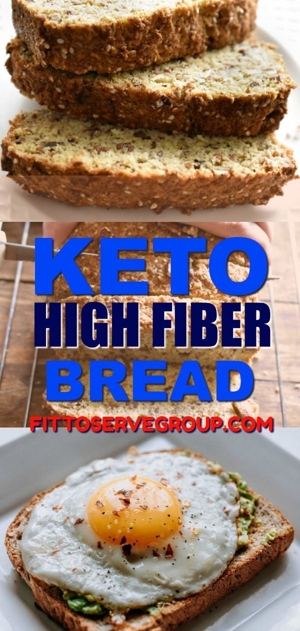 High Fiber Low Carb Bread  Keto High Fiber Bread A great tasting high fiber bread
