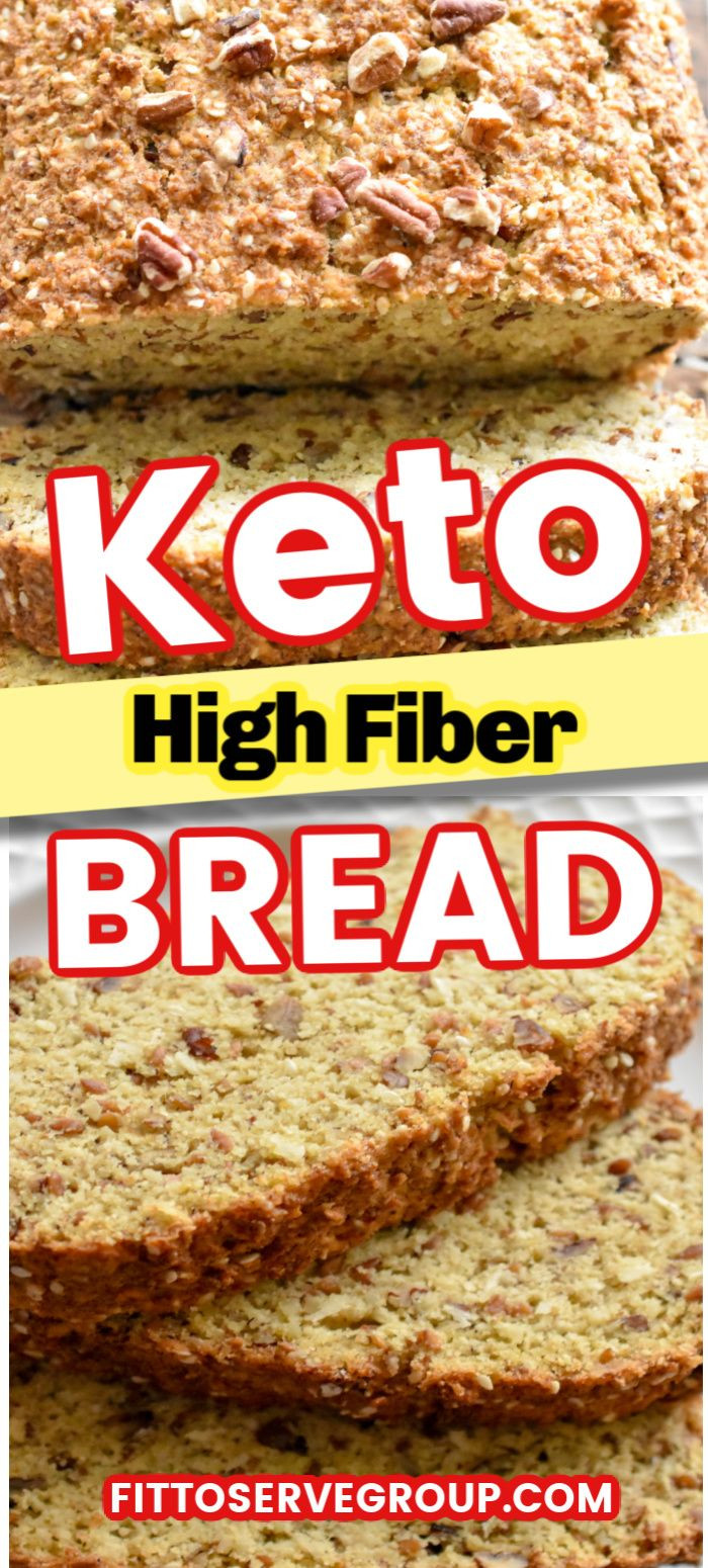 High Fiber Low Carb Bread  Stop missing your whole wheat bread while doing keto when