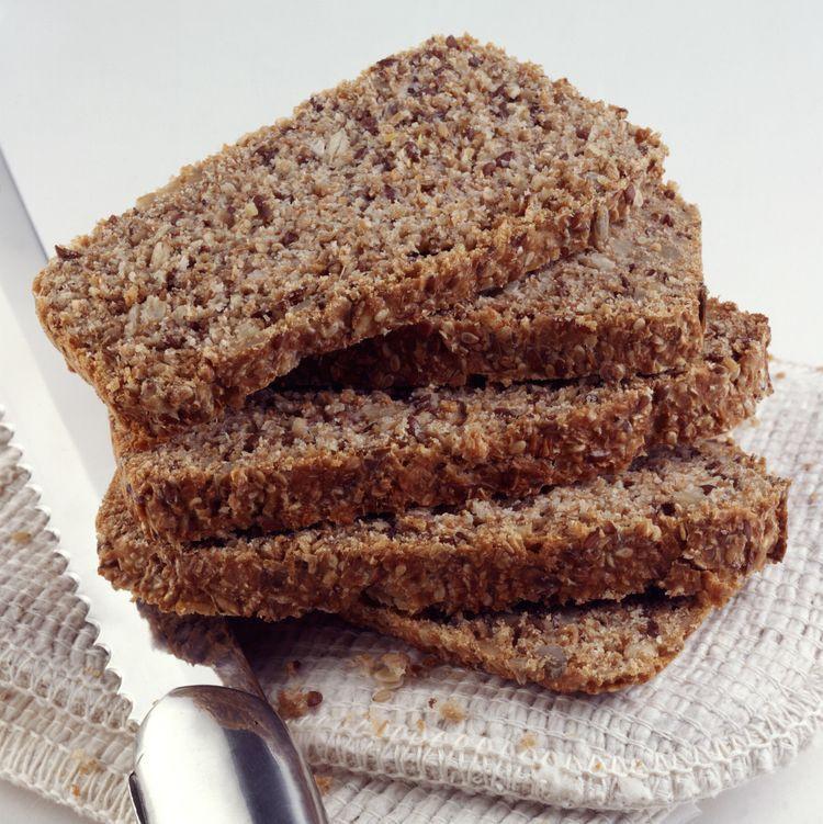 High Fiber Low Carb Bread  Focaccia Style Flax Bread Recipe