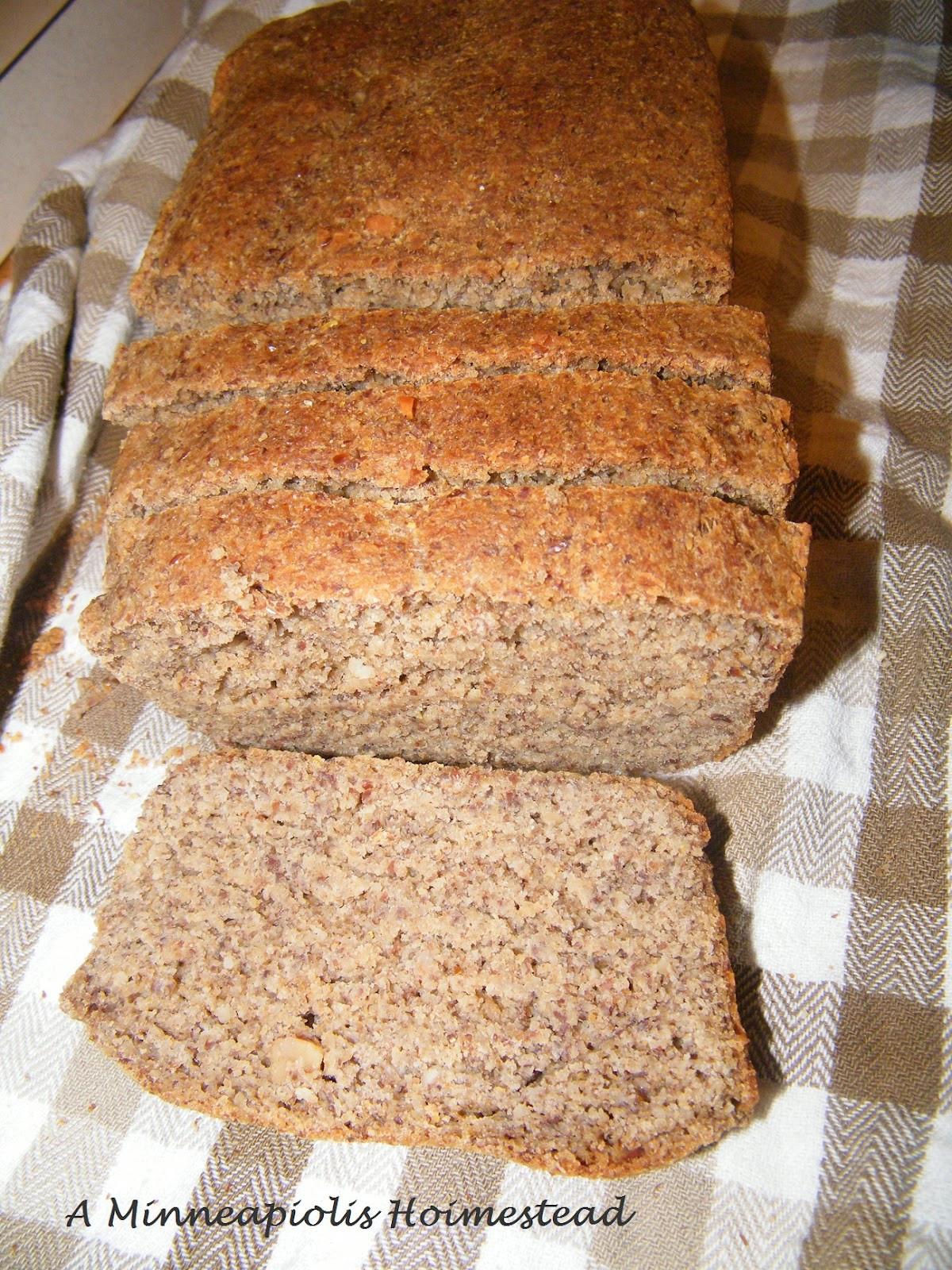 High Fiber Low Carb Bread  Healthy Fluffy High Fiber Yeast Bread Recipe recipe for