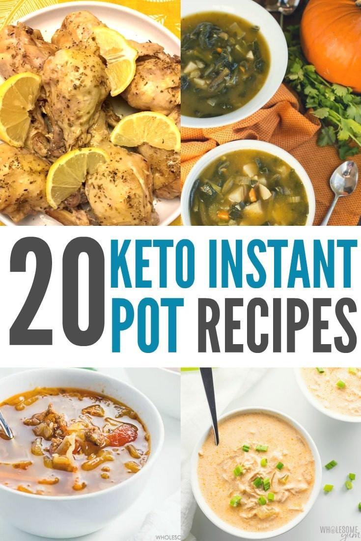 Insta Pot Keto Recipes  Keto Instant Pot Recipes High Fat & Low Carb Recipes