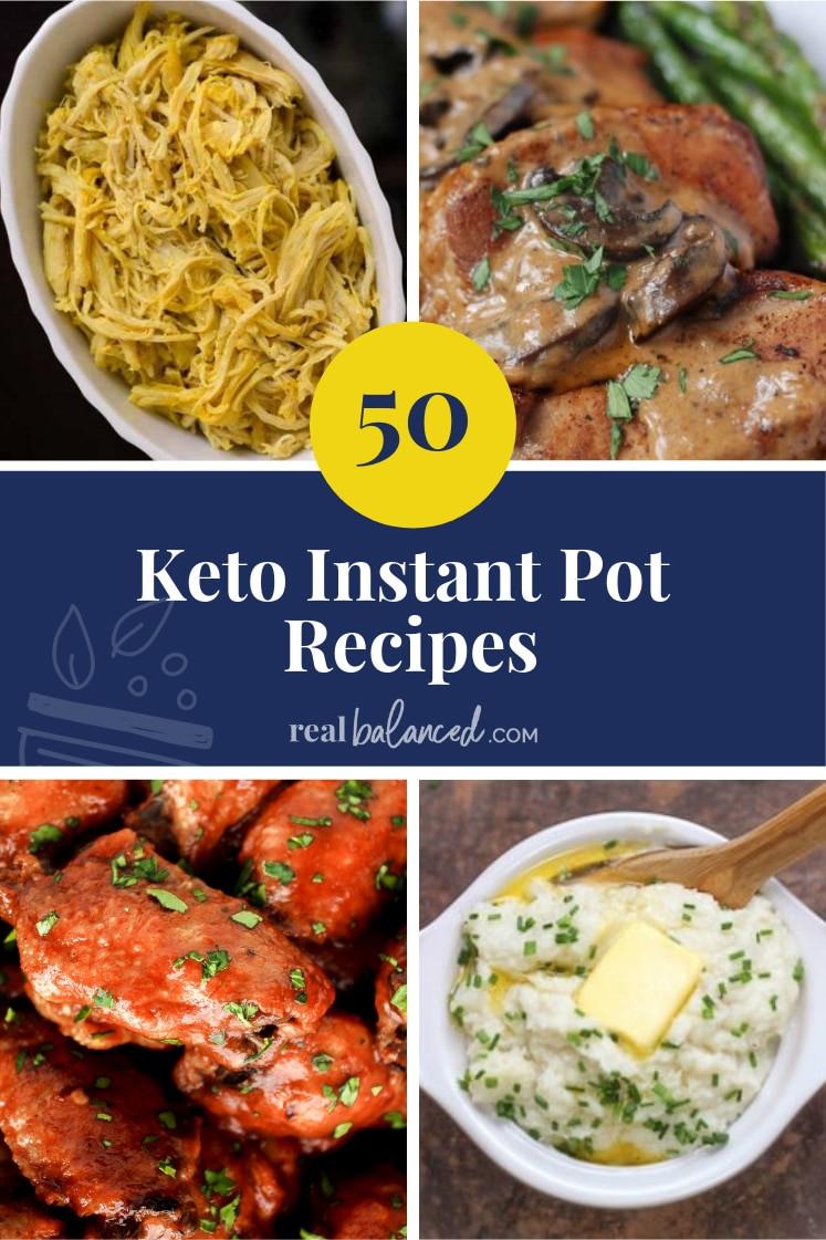 Insta Pot Keto Recipes  50 Keto Instant Pot Recipes