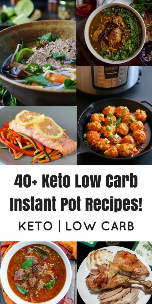 Insta Pot Keto Recipes  40 Keto Low Carb Instant Pot Recipes Oh Snap Let s Eat