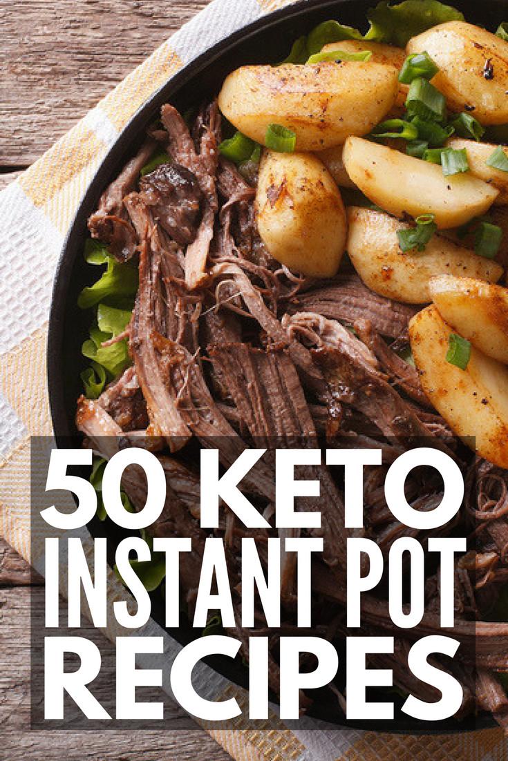Insta Pot Keto Recipes  Instant Pot 101 50 Keto Instant Pot Recipes for Weight Loss