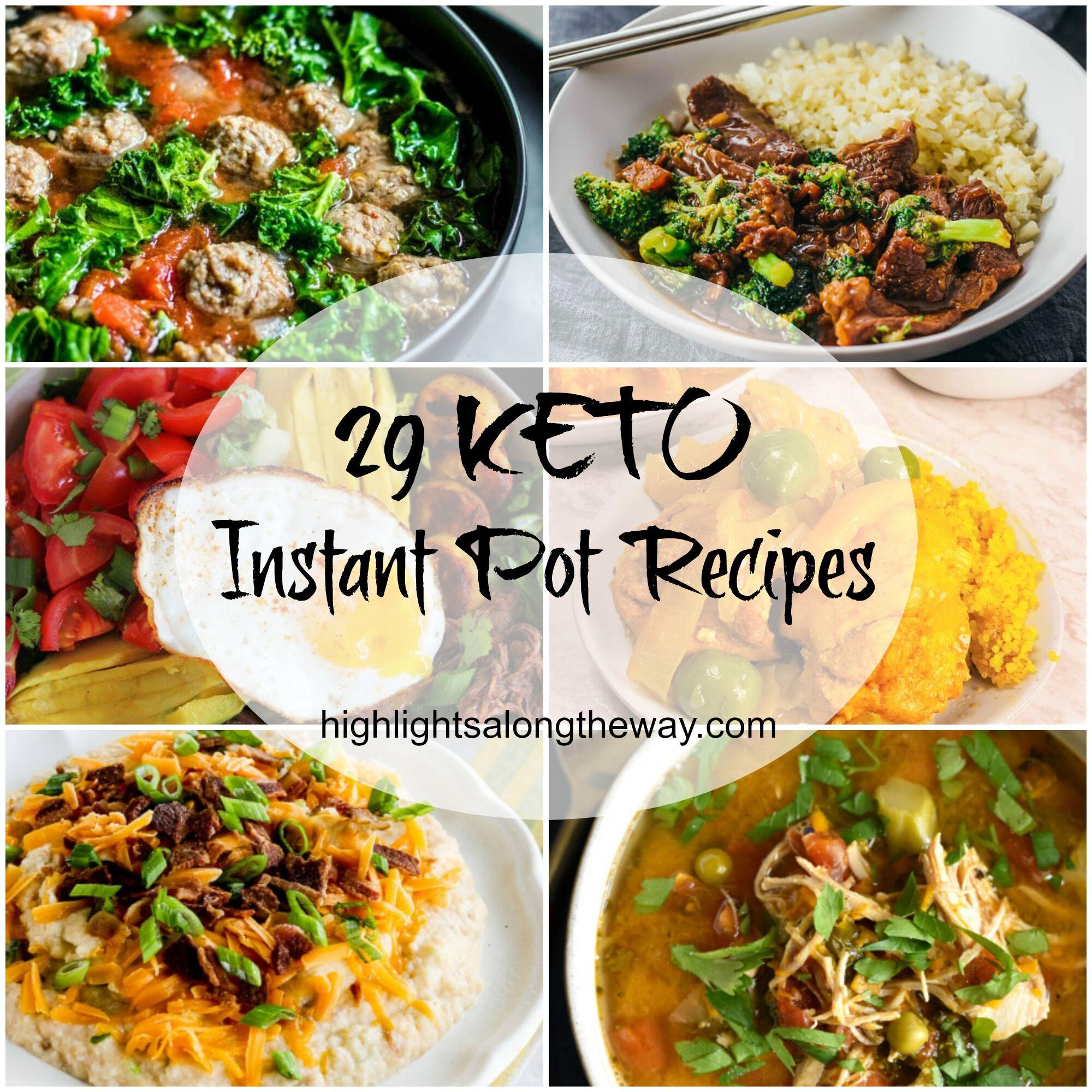 Insta Pot Keto Recipes  Easy Keto Instant Pot Recipes Roundup of 29 Easy Keto