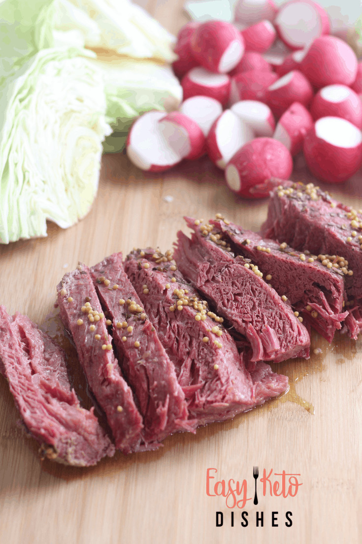 Instant Pot Corned Beef Keto  Corned Beef and Cabbage In The Instant Pot Easy Keto Dishes