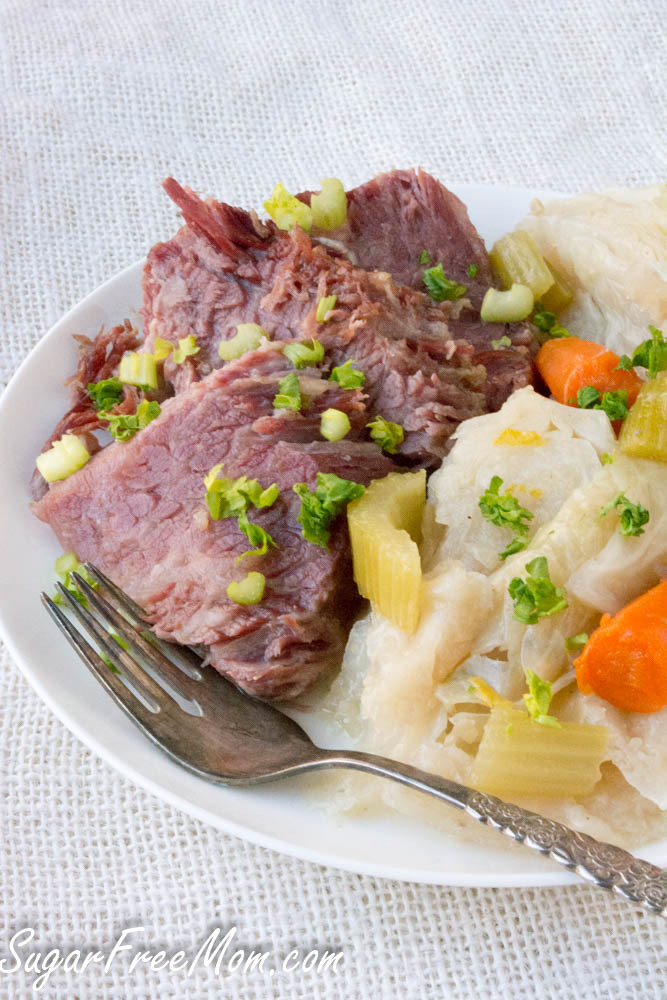 Instant Pot Corned Beef Keto  Keto Corned Beef and Cabbage Instant Pot or Slow Cooker