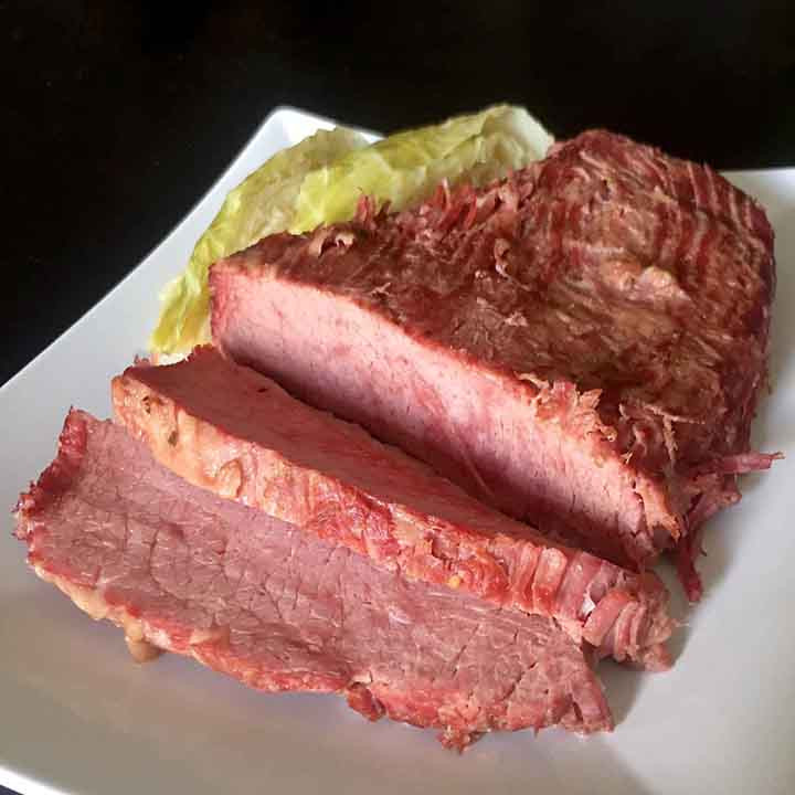 Instant Pot Corned Beef Keto  Low Carb Keto Instant Pot Corned Beef and Cabbage