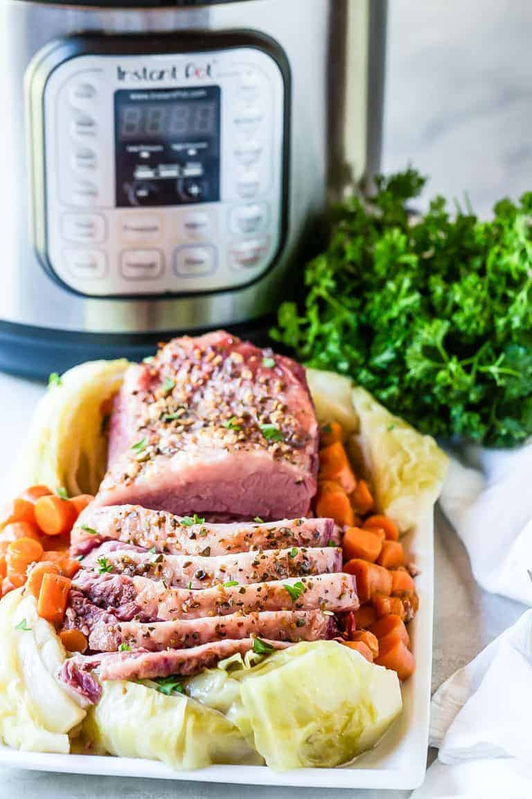Instant Pot Corned Beef Keto  Easy Instant Pot Corned Beef and Cabbage Tutorial
