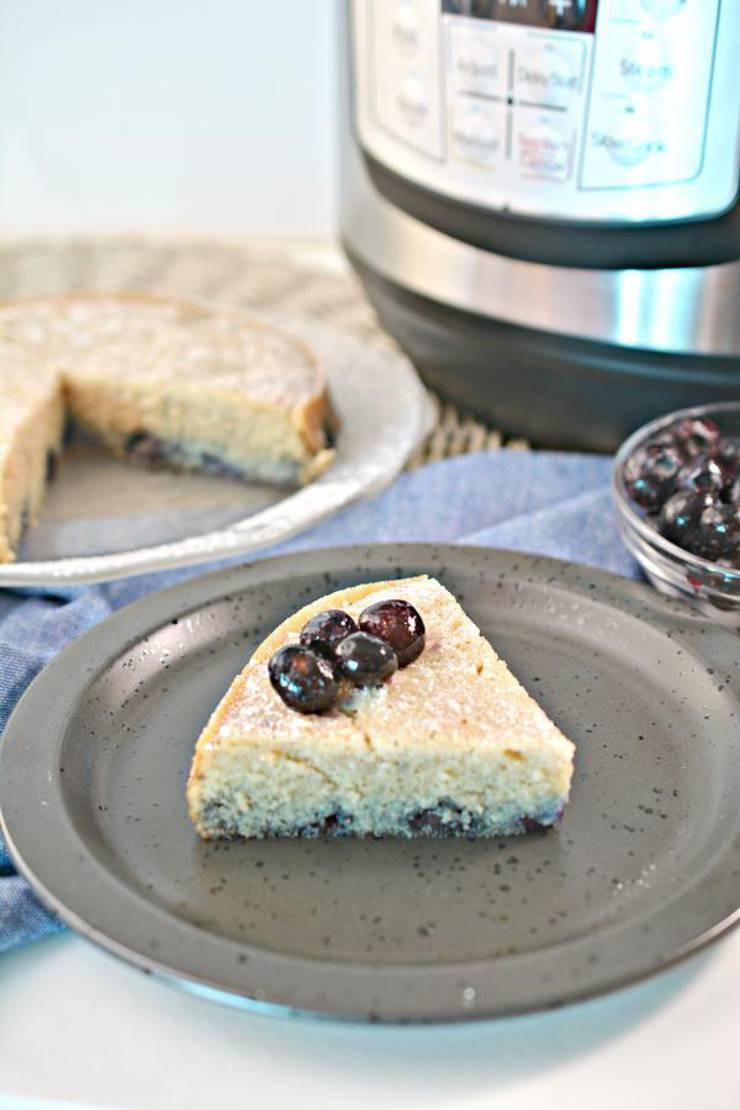 Instant Pot Keto Bread  BEST Keto Blueberry Bread Low Carb Keto Instant Pot