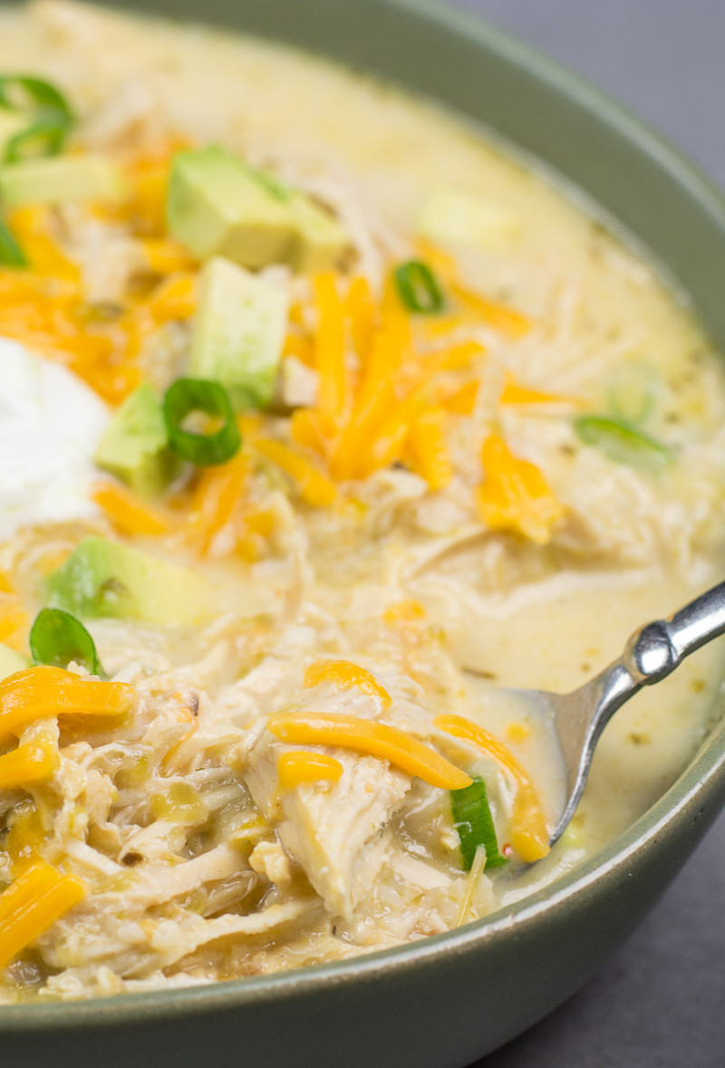 Instant Pot Keto Chicken Chili  Keto White Chicken Chili Instant Pot and Slow Cooker