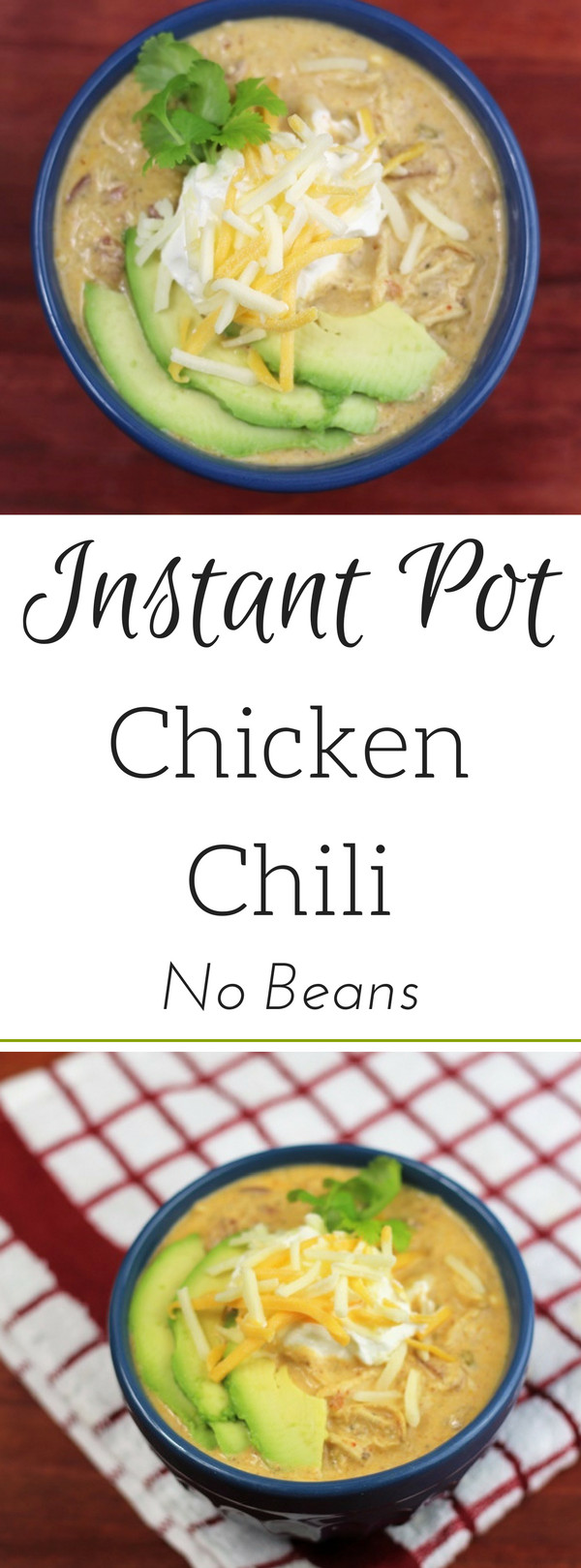 Instant Pot Keto Chicken Chili  Easy Low Carb Instant Pot Chicken Chili No Beans