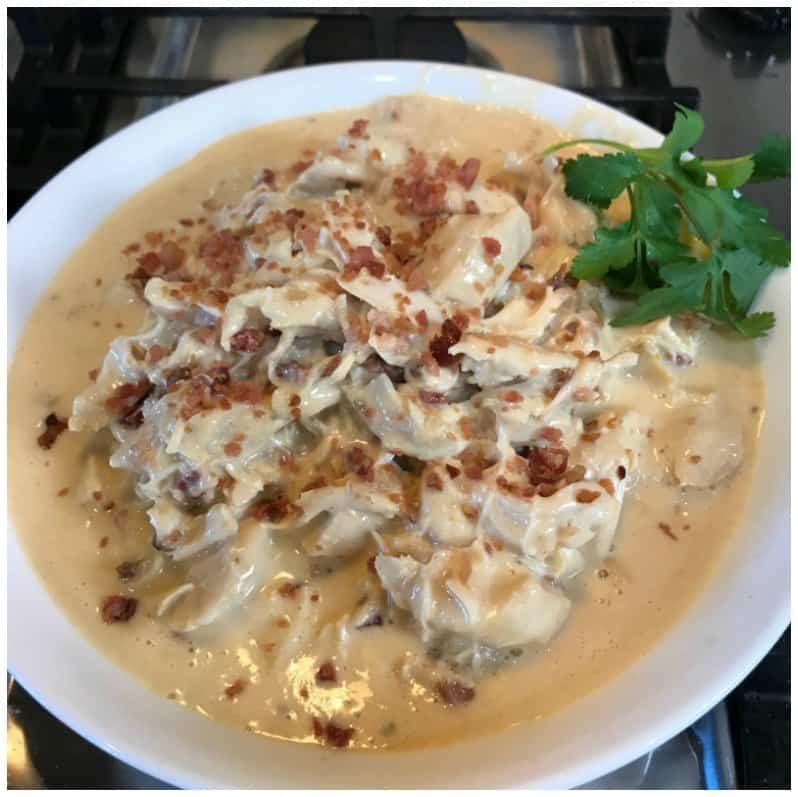 Instant Pot Keto Chicken  Instant Pot Keto Crack Chicken Recipe iSaveA2Z