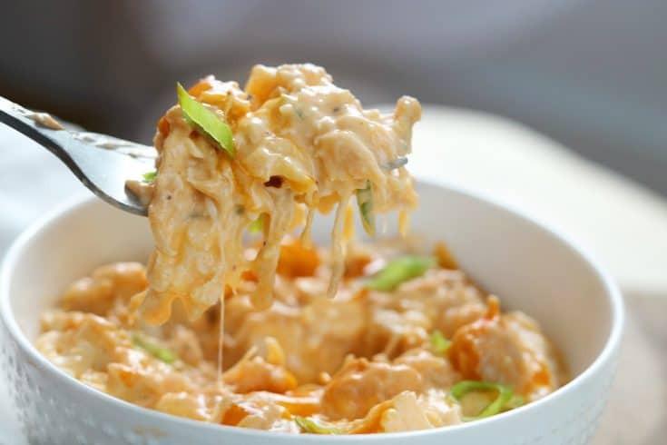 Instant Pot Keto Mac And Cheese  KETO Buffalo Chicken Cauliflower Mac and Cheese 15m RECIPE