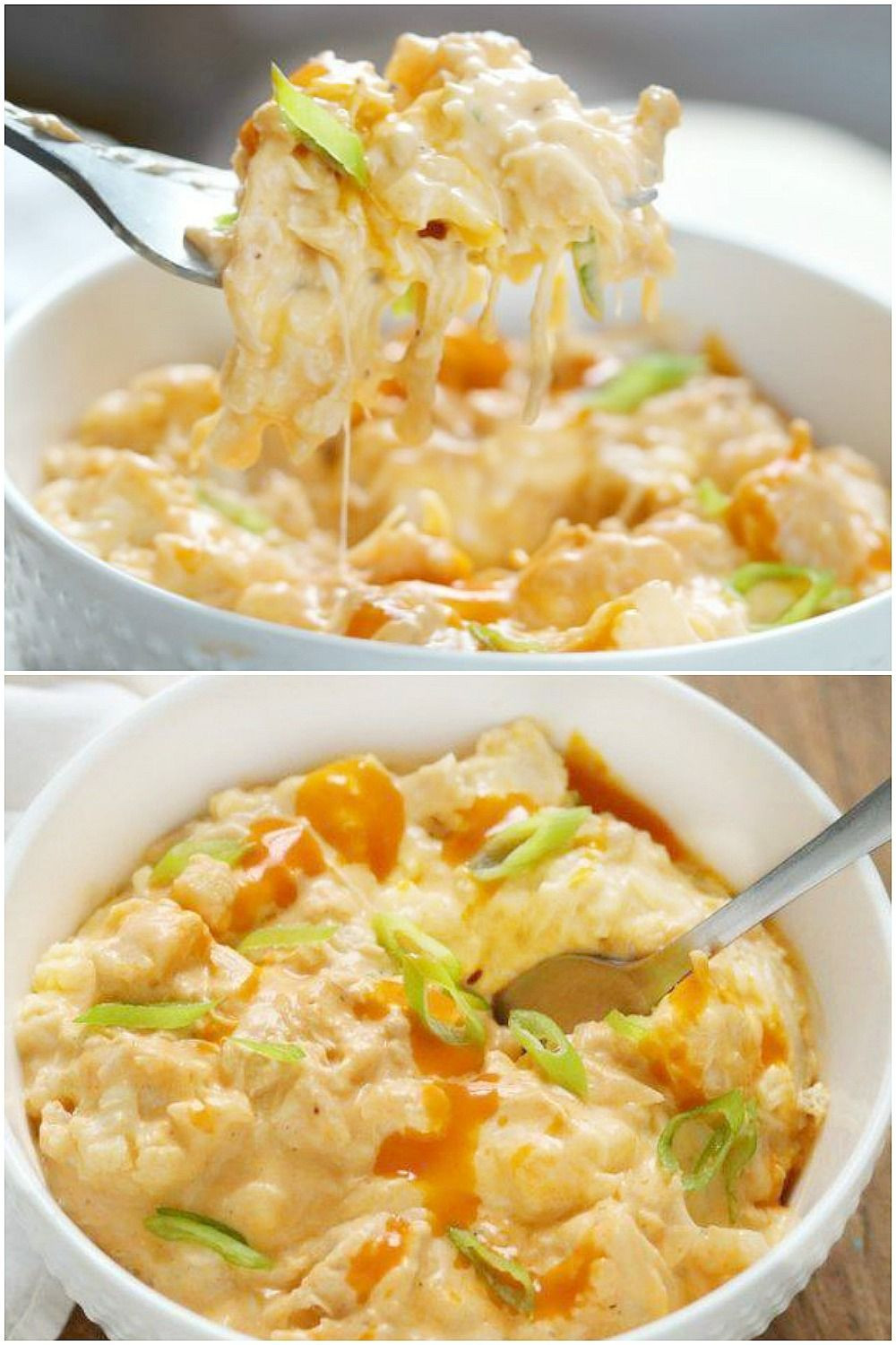 Instant Pot Keto Mac And Cheese  Keto Instant Pot Buffalo Chicken Cauliflower Mac and