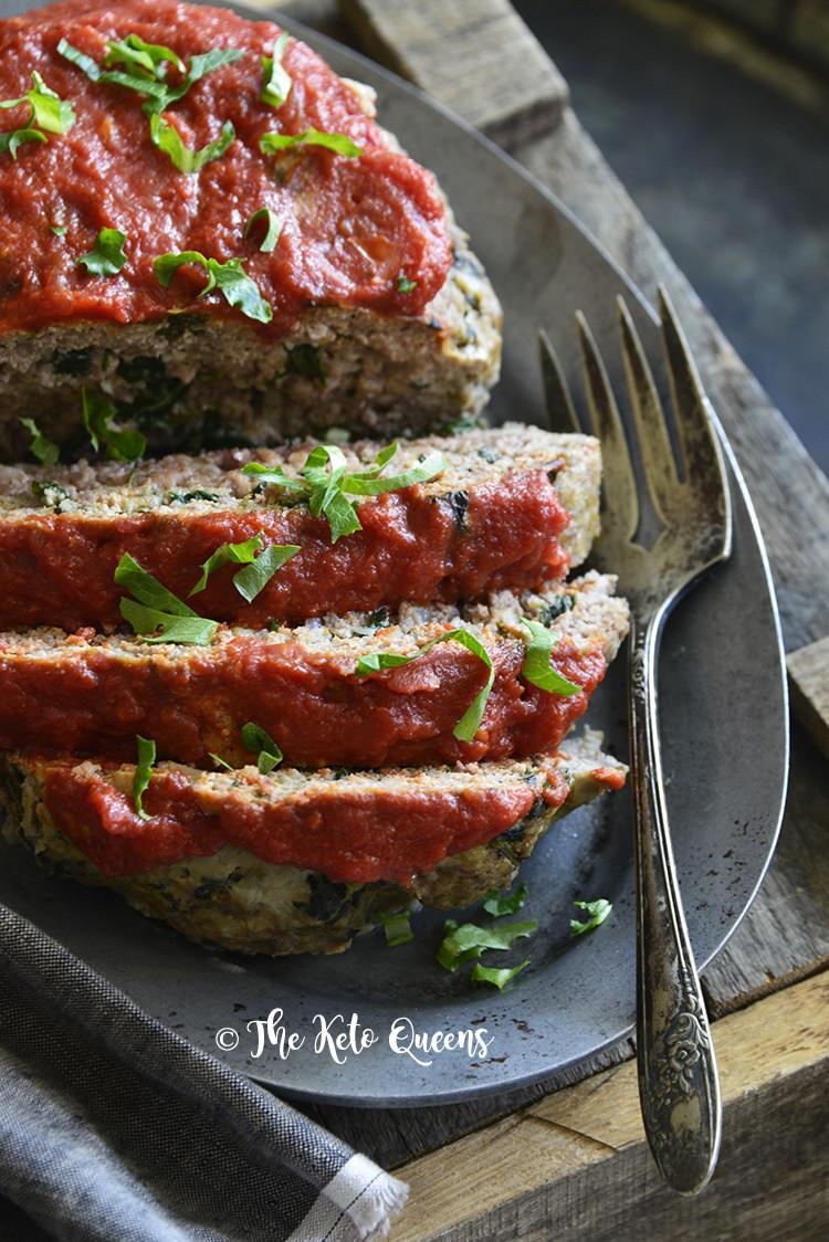 Instant Pot Keto Meatloaf  Easy Instant Pot Low Carb Meatloaf Florentine The Keto
