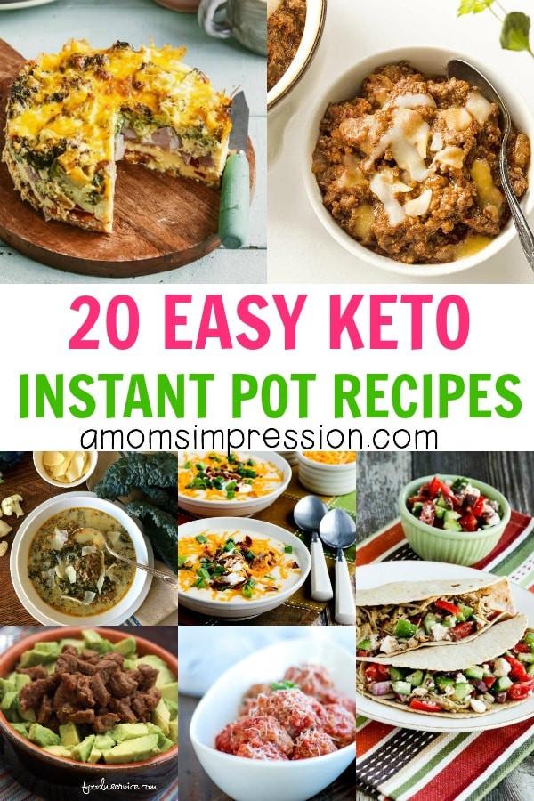 Instant Pot Keto Recipes  20 Easy Keto Instant Pot Recipes A Mom s Impression