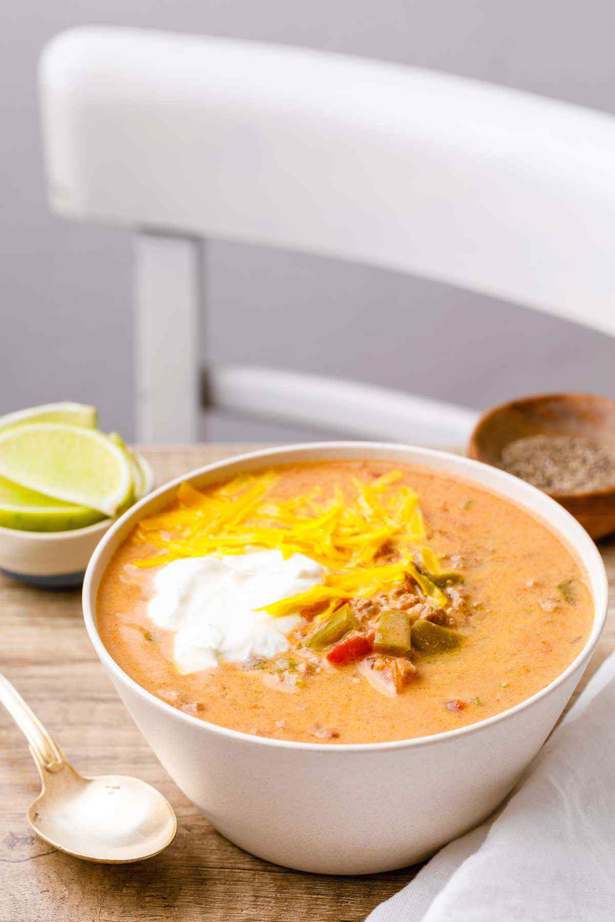 Instant Pot Keto Taco Soup  Out of This World Instant Pot Keto Taco Soup Hearty and
