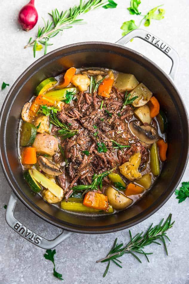 Instapot Keto Beef  Keto Pot Roast Instant Pot Low Carb Paleo Whole30