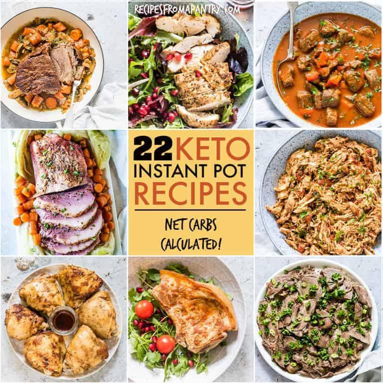 Instapot Keto Recipes  22 Keto Instant Pot Recipes Recipes From A Pantry