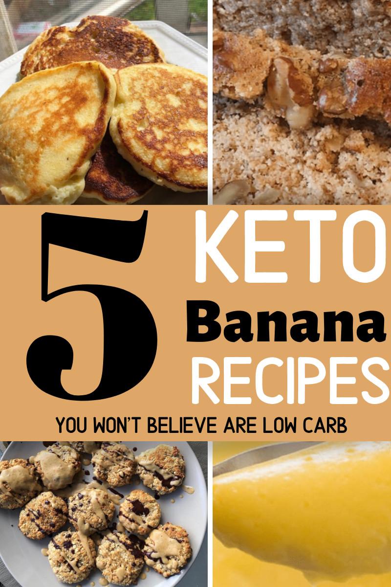 Keto Banana Bread Cookies  5 Keto Banana Recipes The Keto God in 2020
