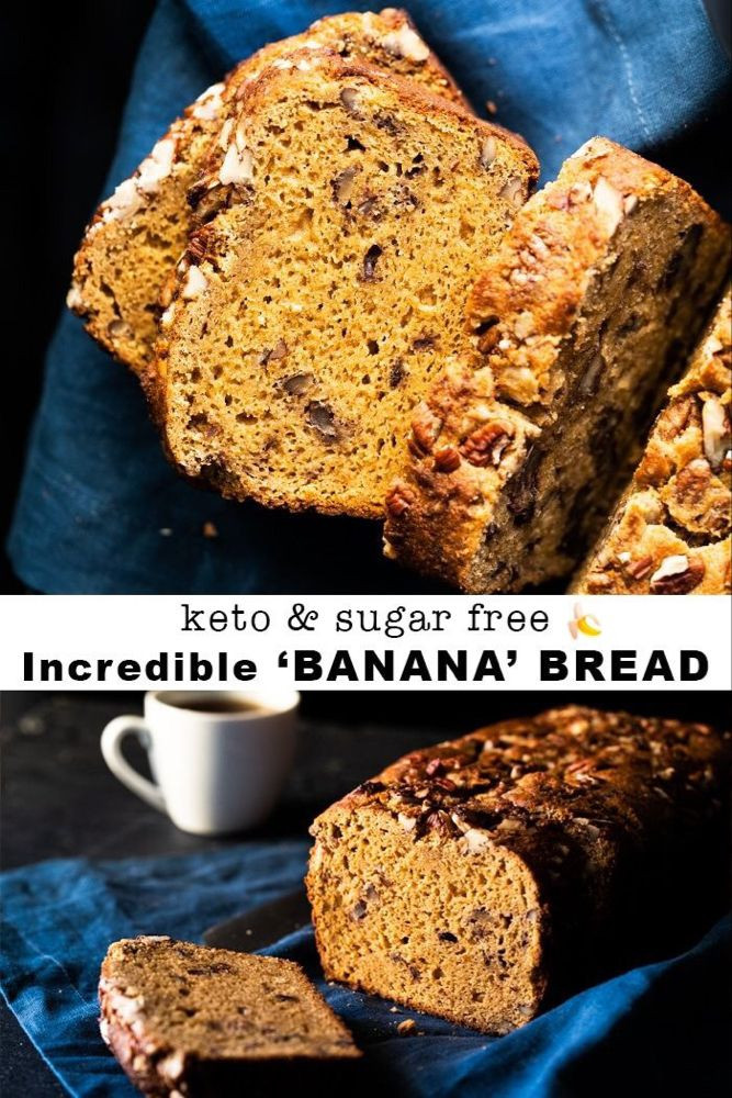 Keto Banana Bread Cookies  10 Best Low Carb Keto Sweet Bread Recipes for Your Sweet