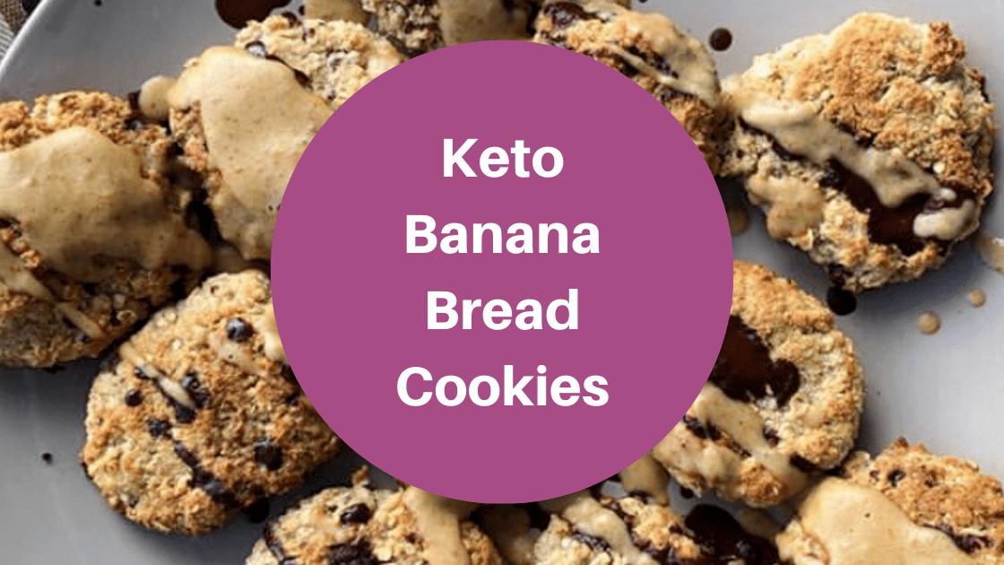 Keto Banana Bread Cookies  Keto Banana Bread Cookies The Keto God
