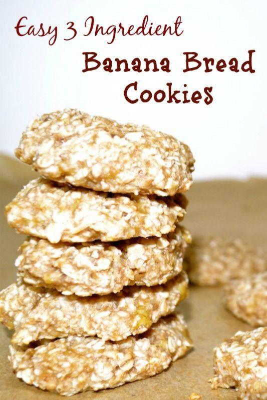 Keto Banana Bread Cookies  Easy 3 Ingre nt Banana Bread Cookies Recipe