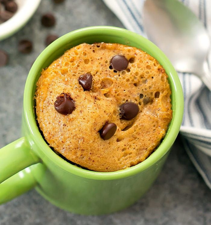 Keto Banana Bread Mug Cake  3 Ingre nt Keto Almond Butter Mug Cake Recipe