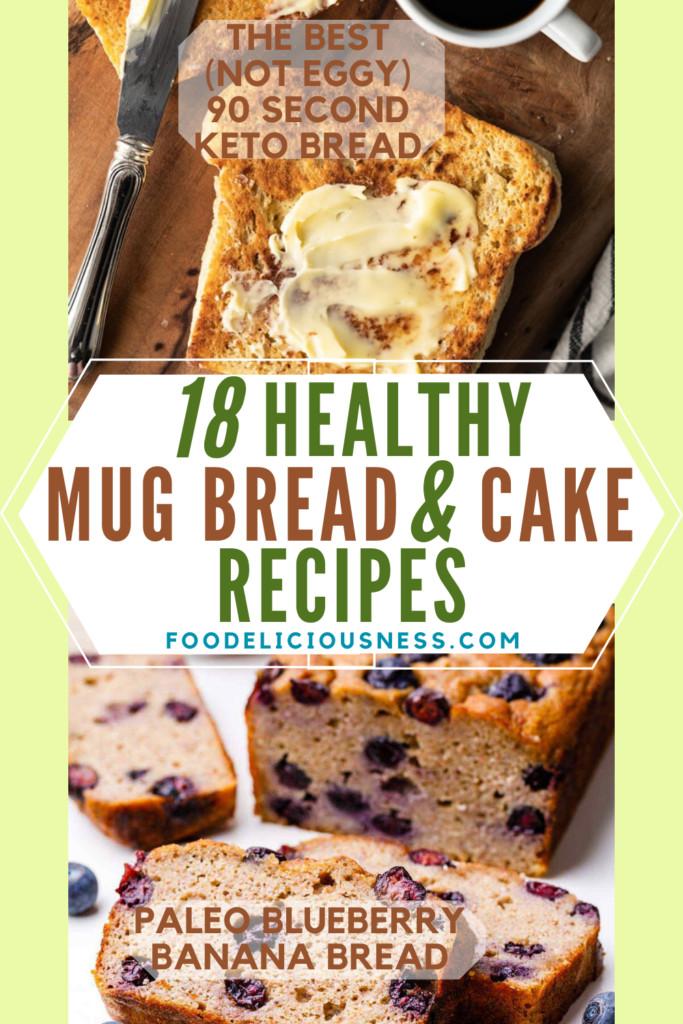 Keto Banana Bread Mug Cake  18 Healthy Mug Bread and Cake Recipes Keto Paleo and Vegan